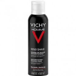 Vichy Homme espuma de afeitar anti-irritaciones piel sensible 200 ml