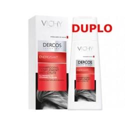 Vichy Dercos champú anticaída estimulante duplo 2x200 ml