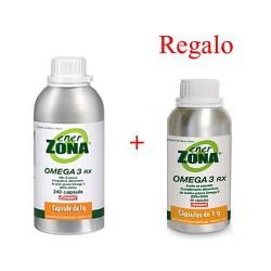 Enerzona RX Omega 3 aceite de pescado 240 cápsulas + 90 cápsulas de regalo