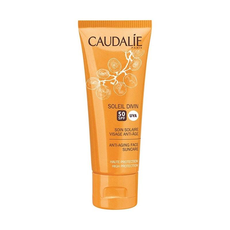 Caudalíe Tratamiento solar facial SPF50 antiedad 40 ml