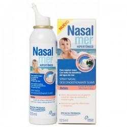 Nasalmer spray hipertónico suave bebés y niños 125 ml