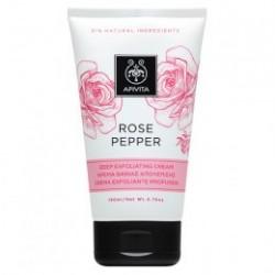 Apivita Rose Pepper crema de exfoliación profunda 150 ml