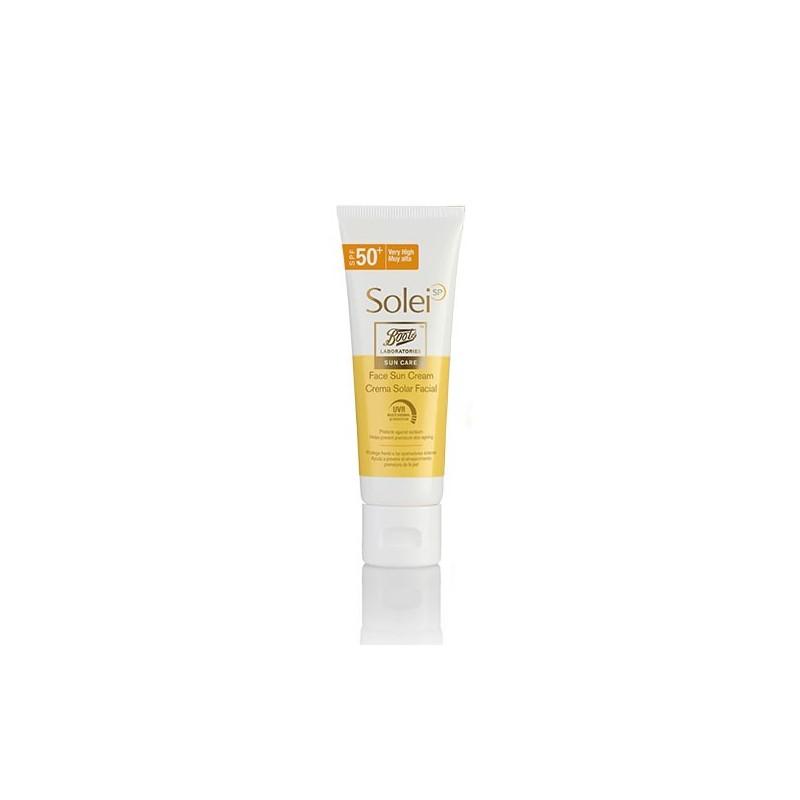Boots SoleiSP crema de protección solar SPFF50 50 ml