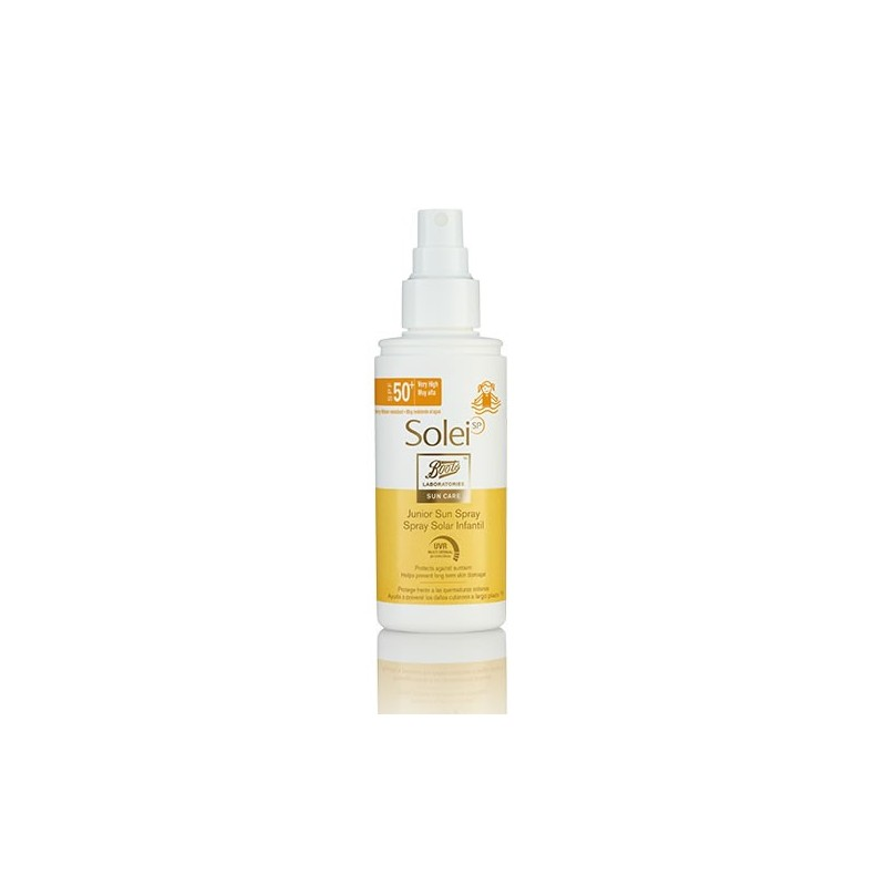 Boots SoleiSP spray infantil SPF50+ 150 ml