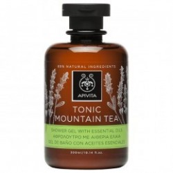 Apivita Tonic Mountain Tea gel de baño 300 ml