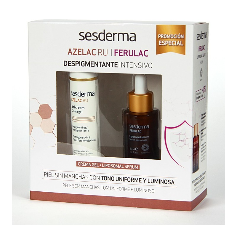 Sesderma Azelac Ru Crema Gel Intensivo 50 ml + Ferulac Serum 30 ml
