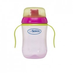 Dr. Brown's Taza Educativa 270ml +9 meses Colores Surtidos