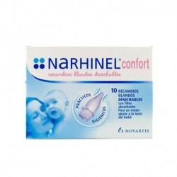Narhinel Confort recambios 10 unidades.