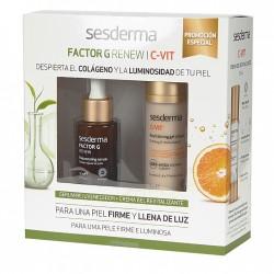 Sesderma Factor G Renew Sérum 30 ml + C-VIL Crema Gel 50 ml