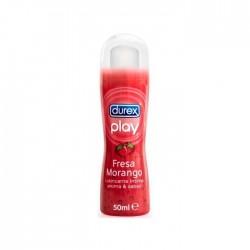Lubricante Play sabor Fresa 50ml Durex