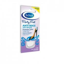 Dr. Scholl Party Feet Plantillas anti-roce protección del talón 1 par