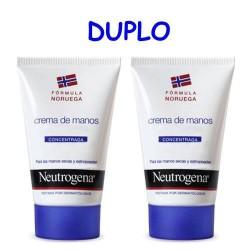 Duplo Neutrógena Crema de Manos concentrada con perfume 2 x 50 ml
