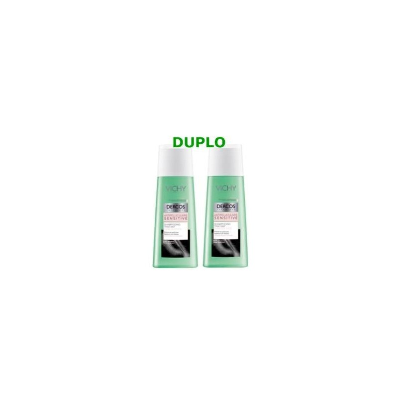 Vichy Dercos champú anti-caspa Sensitive duplo 2x200 ml