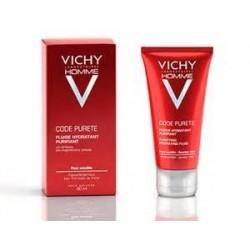 Vichy Homme Code Purete gel limpiador purificante piel sensible 100 ml