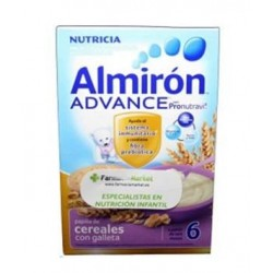 Almiron Advance cereales con galletas a partir de 6 meses 600 g