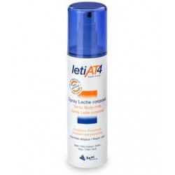 Leti AT4 Leche Corporal Spray Pieles Atópicas y/o Secas 200 ml