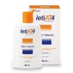 Leti AT4 Baño Tratante para Piel Atópica y/o Seca 200 ml