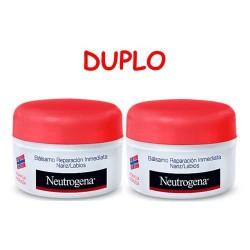 Duplo Tarro Bálsamo Reparación Inmediata Nariz y Labios - 15ml Neutrógena