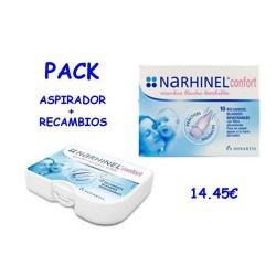 Narhinel Confort  aspirador nasal + 10 Recambios