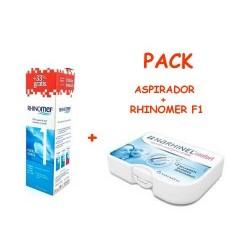 Narhinel Confort aspirador nasal + Rhinomer fuerza 1 180 ml