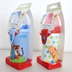 Nuk biberón Active Cup Disney boquilla silicona 300 ml +12 meses 1 unidad