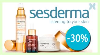 30% de descuento en productos Sesderma